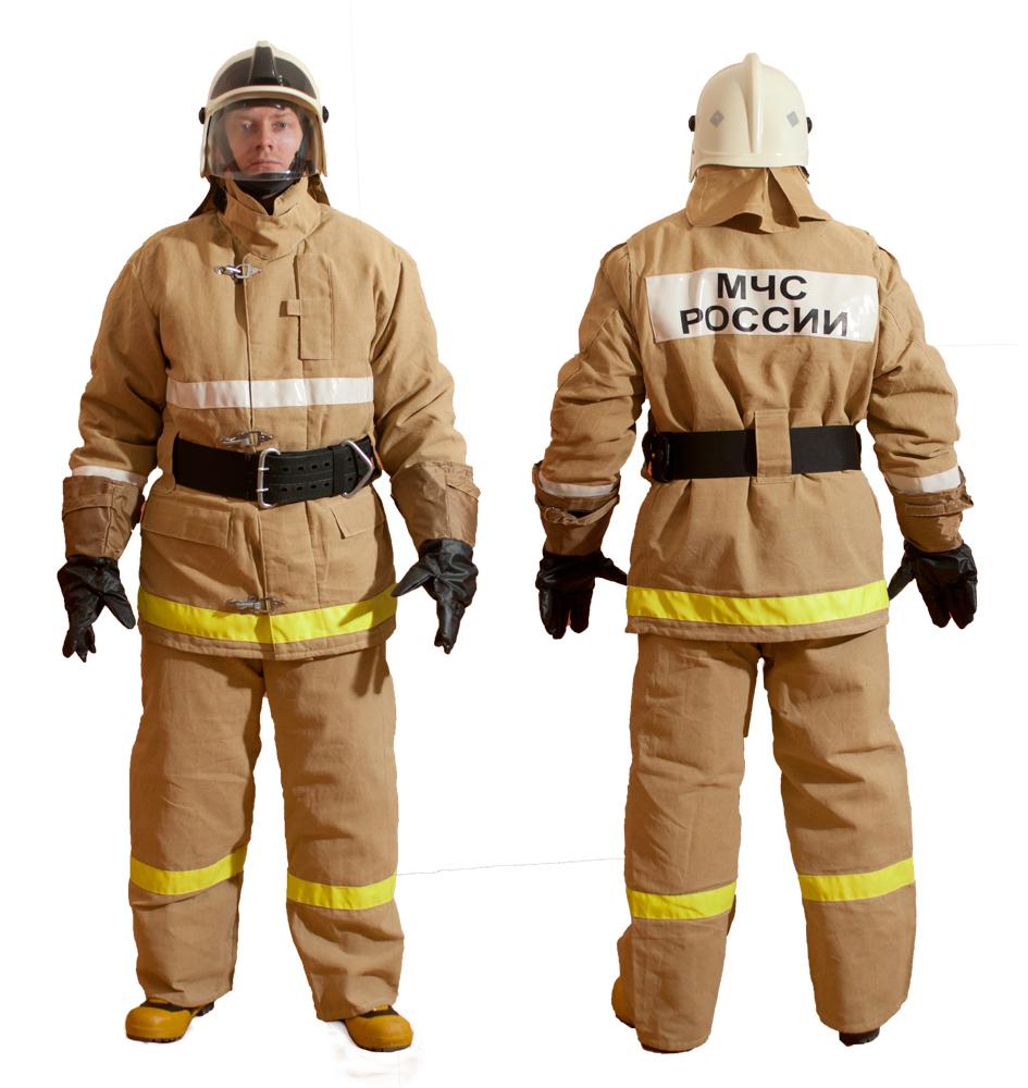 Спецодежда пожарного в картинках