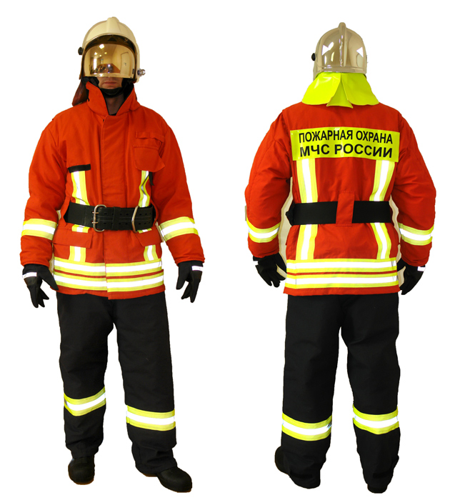 Картинка пожарной одежды пожарного