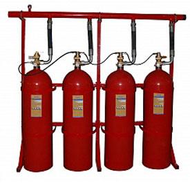 Батареи газового пожаротушения